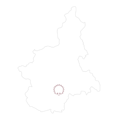 mappa langhe